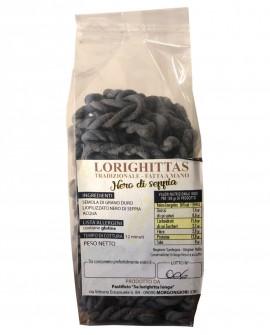 Lorighittas al Nero di Seppia di semola di grano duro fatta a mano - sfuso in busta 2,5 kg - Pastificio SA LORIGHITTA LONGA