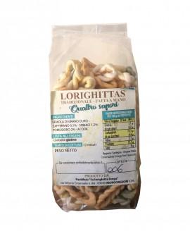 Lorighittas ai Quattro Sapori di semola di grano duro fatta a mano - busta 1 kg - Pastificio SA LORIGHITTA LONGA