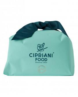 Panettone Cipriani artigianale con uvetta senza canditi - incartato a mano - 1Kg - Cipriani Food