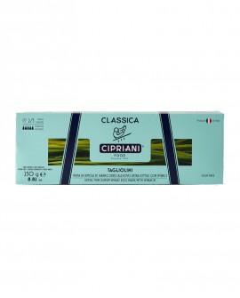 Tagliolini Cipriani di semola di grano duro all'uovo con spinaci extra sottile - Classica 250g - Cipriani Food