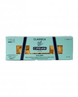 Tagliardi Cipriani di semola di grano duro all'uovo extra sottile - Classica 250g - Cipriani Food