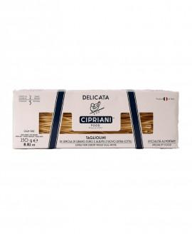 Tagliolini Cipriani di semola di grano duro e albume d'uovo extra sottili - Delicata 250g - Cipriani Food