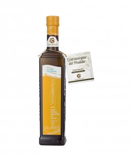 Olio L'Ottobratico extra vergine d'oliva - Presidio Slow Food - bottiglia 500 ml - Olearia San Giorgio