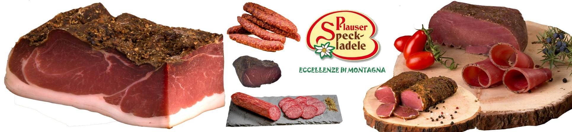 carne salada e speck vendita online alto adige - Plauser Speck Ladele