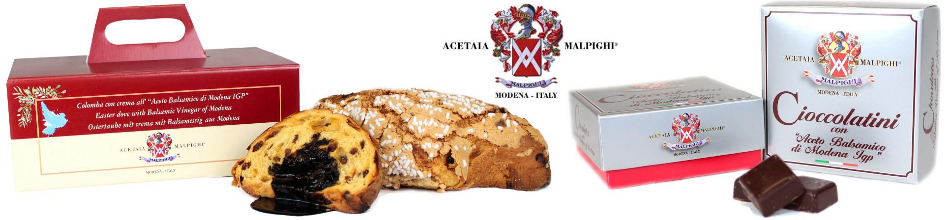 vendita online colomba pasquale all'aceto balsamico - ACETAIA MALPIGHI
