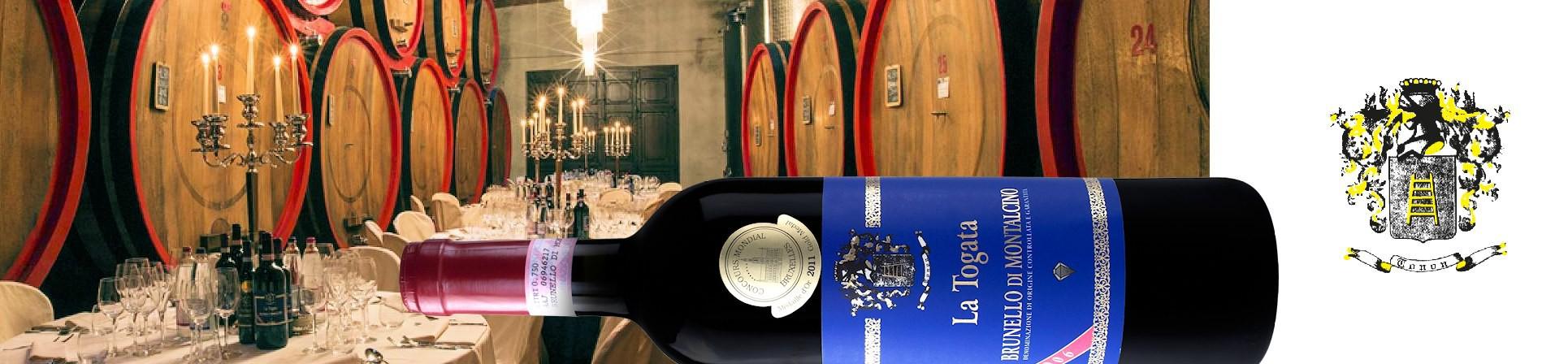 B2B GUSTOX - il Marketplace all'ingrosso delle eccellenze agroalimentari italiane - Brunello di Montalcino - LA TOGATA