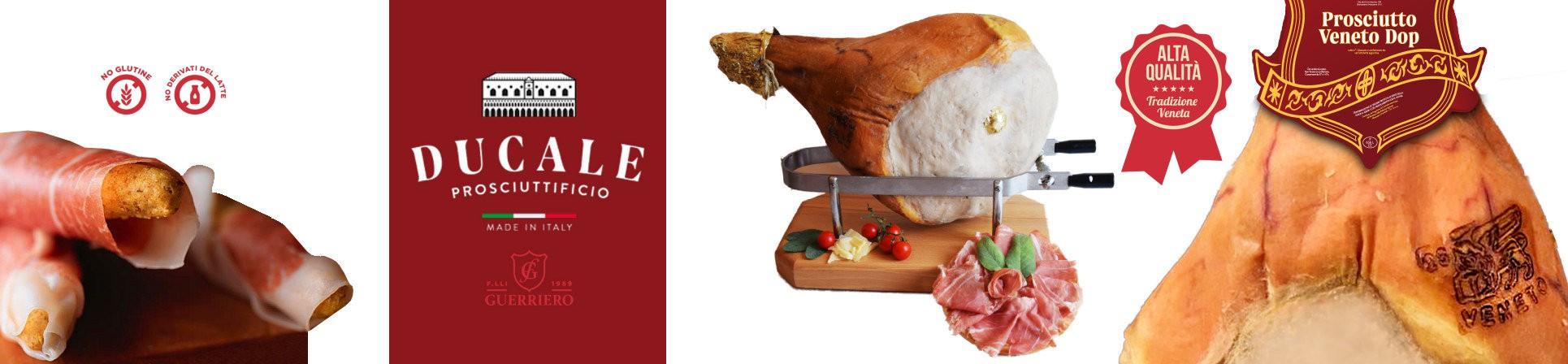 B2B GUSTOX - il Marketplace all'ingrosso delle eccellenze agroalimentari italiane - Prosciutto Veneto DOP - Prosciuttificio Ducale