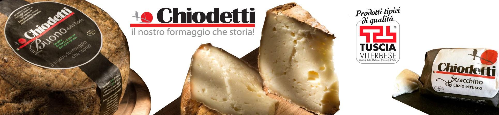 vendita online all'ingrosso Formaggi della Tuscia Viterbese - CHIODETTI FORMAGGI