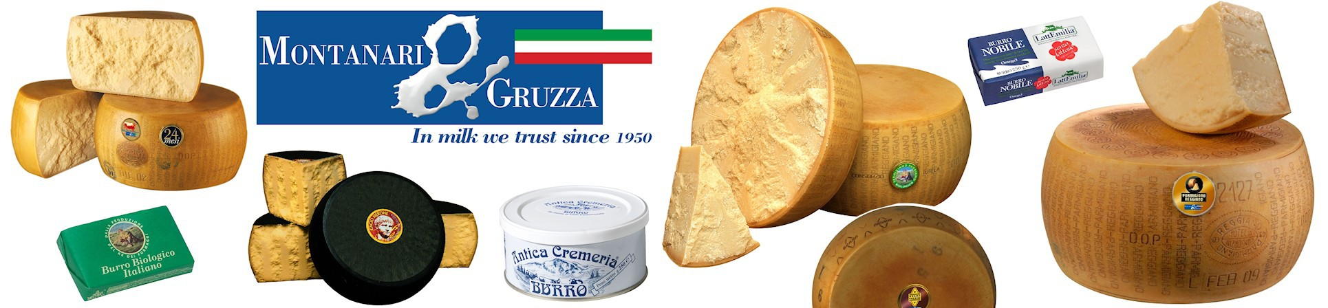 B2B GUSTOX - il Marketplace all'ingrosso delle eccellenze agroalimetari italiane - Grana Padano Dop - MONTANARI & GRUZZA