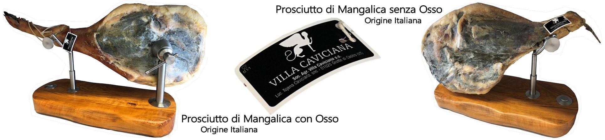 Grandi Salumi di Mangalica vendita online - Salumificio Villa Caviciana