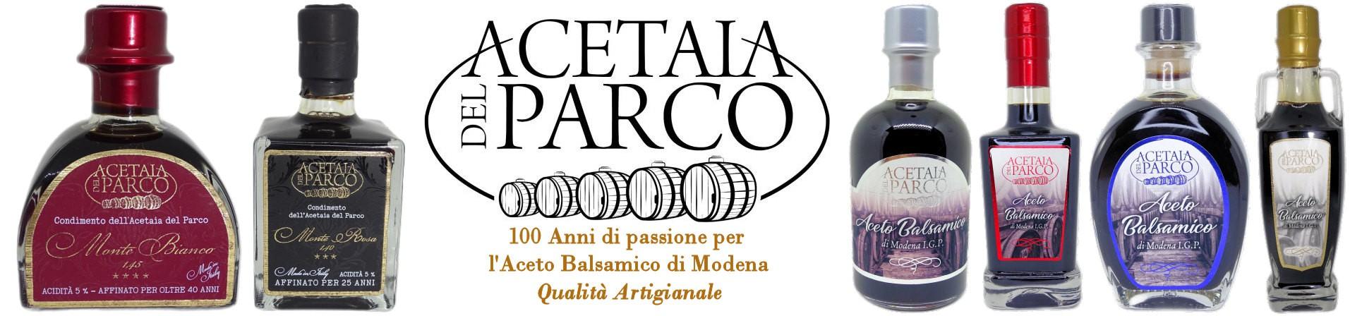 aceto balsamico di modena vendita online artigianale - Acetaia del Parco