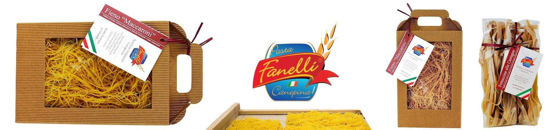 B2B GUSTOX - il Marketplace all'ingrosso delle eccellenze agroalimentari italiane - Fieno di Canepina pasta all'uovo- PASTA FANELLI