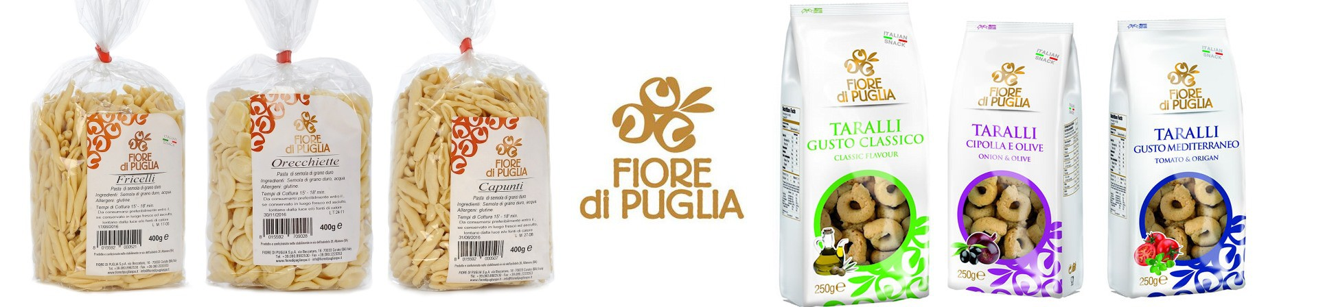 B2B GUSTOX - il Marketplace all'ingrosso delle eccellenze agroalimentari italiane - FIORE DI PUGLIA