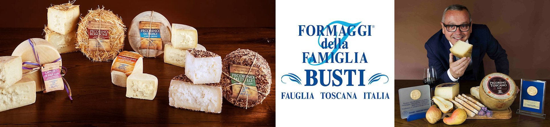 B2B GUSTOX - il Marketplace all'ingrosso delle eccellenze agroalimentari italiane - Formaggi della Famiglia Busti