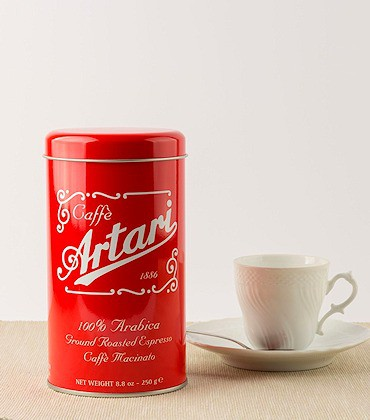 Espresso italiano - Caffè Artari 1886 - ingrosso - Valle d'Aosta
