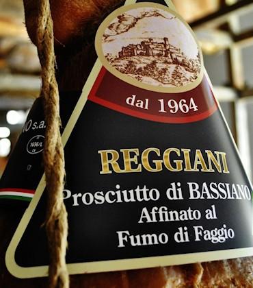 Prosciutto di Bassiano - Reggiani - vendita ingrosso - Lazio