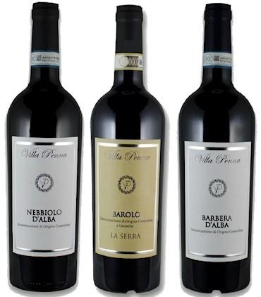 Vini DOP Villa Penna - vendita ingrosso - Piemonte