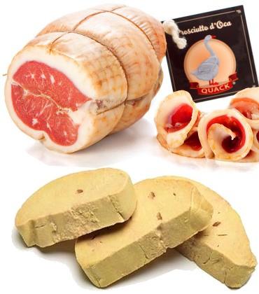 Foie gras d'oca, carni e salumi - vendita ingrosso - Lombardia