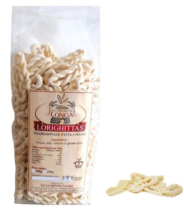 Lorighittas pasta sarda - vendita ingrosso - Sardegna